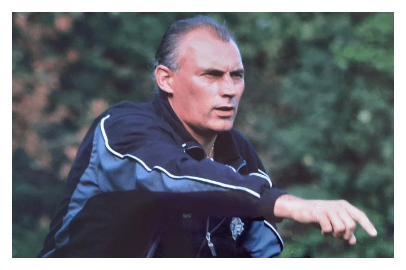 Als trainer bij de FC Den Bosch voetbalschool